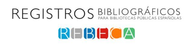 rebeca registros bibliográficos para bibliotecas